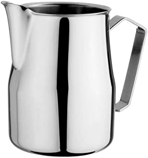 Motta Europa Stainless Steel Frothing Pitcher, 33.8 Fluid Ounce