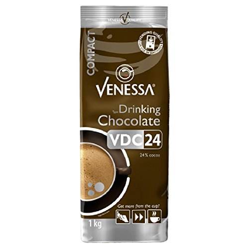 10 x Venessa VDC 24 Trinkschokolade Automatenkakao (24%) 1kg