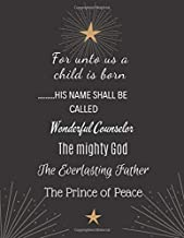 his name shall be called wonderful counselor