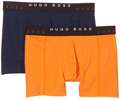 BOSS Herren Cyclist 2P FN Solid 10163431 0 Boxershorts, Orange (Open Orange 858), Small (Herstellergröße: S) (2er Pack)