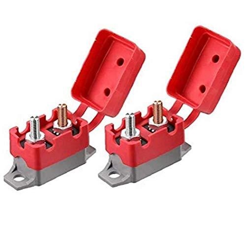 Aiyrchin Restablecer 12V / 24V 40A Disyuntor automático Auto Reset Portafusible Waterptoof para la Protección del Sistema