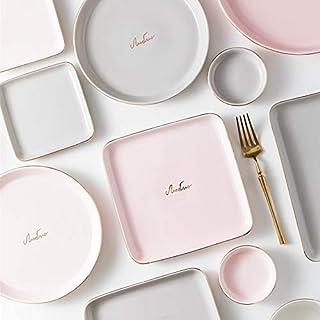 AVEE Plats et Assiettes Arts de la Table New Nordic Luxe Céramique Phnom Penh Steak Alimentaire Plate Plat Accueil Dîner c...