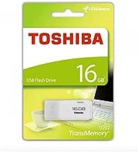 Toshiba 16GB USB 2.0 Flash Disk TransMemory U202 Hayabusa USB2.0 Flash Drive USB Stick white ( THN-U202W0160A4 )