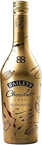 Baileys Chocolat Luxe 50cl - Irish Cream Liqueur avec du vrai chocolat Belge