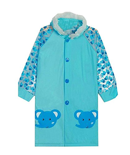 Baby Blue Rain Jacket pluie Enfants utiles Manteau pour Girl & Boy