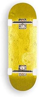 BerlinWood BW Mini Logo Fingerboard Complete (X-Wide 33.3mm, Yellow)