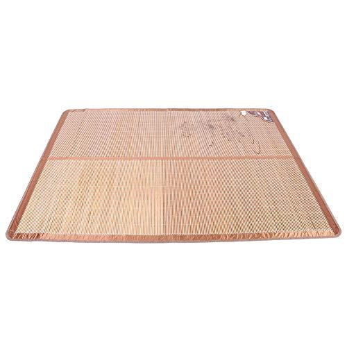 Alinory Colchones de enfriamiento de Doble Cara, cómodo tapete de enfriamiento portátil, tapete de bambú, Dormitorio para niños, hogar de Verano(90 * 190cm)