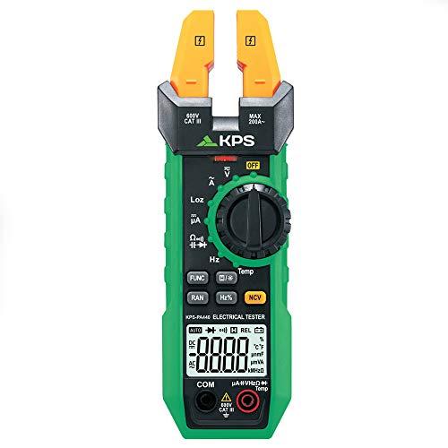 KPS-PA440 Pinza amperimétrica digital con maxilar abierto 12mm (0.5