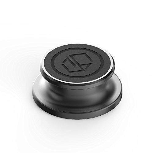 Sinjimoru Magnetische Handyhalterung, Magnet Handyhalter für Sinjimorus Ringo, einsetzbar als Handy Magnethalterung/Auto Handyhalterung für iPhone und Android. Ringo's Belly Button, Schwarz.