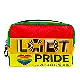 Bolsa Maquillaje Almacenamiento organización Artículos tocador cosméticos Estuche portátil Orgullo Gay del Arco Iris para Viajes Aire Libre