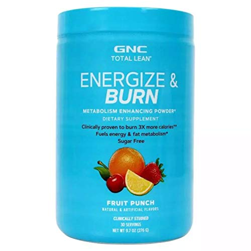 GNC Total Lean Advanced Energize and Burn – 220.8 g (Fruit Punch)