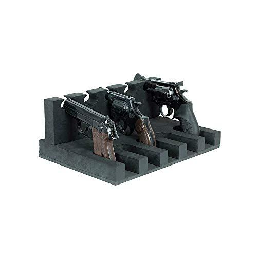 BURG-WÄCHTER Kurzwaffenhalterung für bis zu 5 Kurzwaffen, KWH 5, Aus robustem Schaumstoff