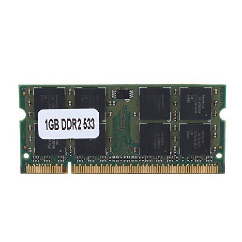 Mugast Memoria RAM DDR2,Memoria per Notebook,RAM da 1GB DDR2 PC2-4200 533MHz 200Pin per Computer Portatile, Compatibile con Intel/AMD