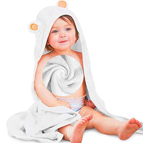 HyAdierTech Baby Toalla con Capucha, Toalla de Baño Bebé, Capa de Baño Bebé Infantil, Toalla Bebe Recien Nacido, Ultra...