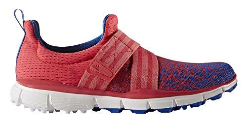 adidas W Climacool Knit Zapatos de Golf para Mujer, Rosa/Azul, 36.6