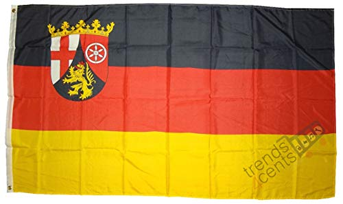 XXL Flagge Fahne Deutschland Rheinland-Pfalz 150 x 250 cm