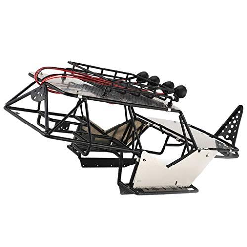 sharprepublic Karosserie Überrollkäfig Im Maßstab 1:10 Passend Für Axial Wraith AX90018, 90020 RC Crawler Car, Schwarz