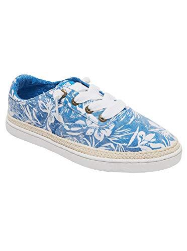 Roxy Women's Talon Slip On Sneaker Shoe, C Blue/White, 9.5 M US