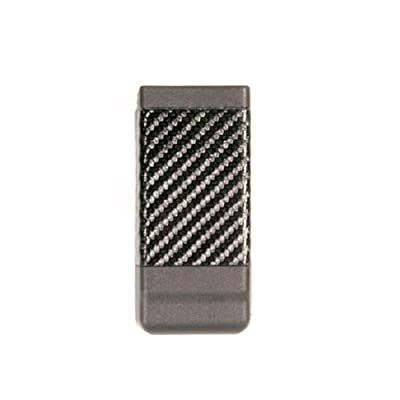 BLACKHAWK! Double Stack Single Mag Case with Carbon Fiber Finish for 9mm/.40 cal