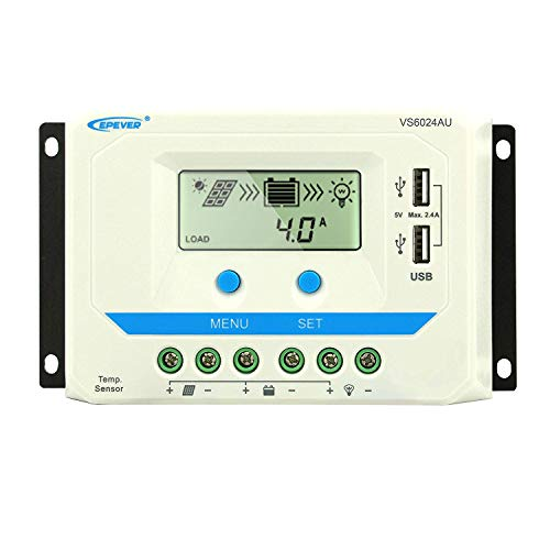 EPEVER 60A Solar Charge Controller 12V/24V review