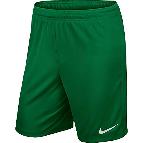 Nike Yth Park II Knit Short Nb, Pantalón Corto, Niños, Verde (Pine Green/White), XL