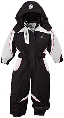 Peak Mountain Feniax/nh Combinaison de Ski Fille, Noir, FR : 3 Ans (Taille Fabricant : 3)