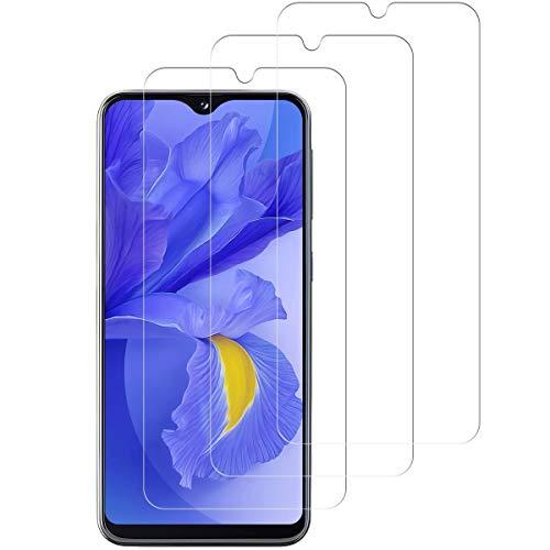 Aspiree Ecran Protection pour Samsung Galaxy A20e, Lot de 3, Verre Trempé Dureté 9H, Anti-Rayure, Sans Bulles D'air, HD 99% Transparent