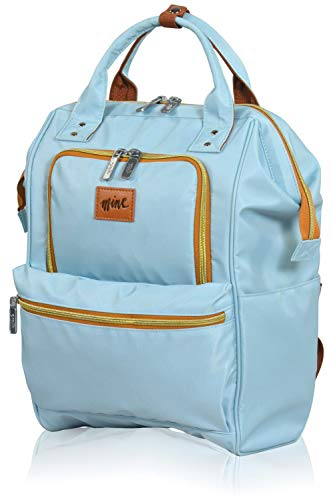 Eminent Laptop Rucksack Mine Backpack 15'' RFID Tagesrucksack Damen Blau