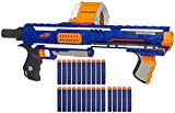 Rampage Nerf N-Strike Elite Toy Blaster with 25 Dart Drum Slam Fire & 25 Official Elite Foam Darts for Kids, Teens, & Adults (Amazon Exclusive)