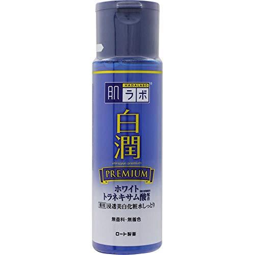 [Quasi drug] Hada Lab Shirajun Premium Medicated Penetration Whitening Lotion Moisture White Tranexamic Acid x Vitamin C Combination 170ml x 7