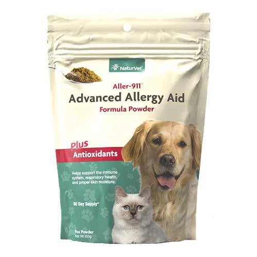NaturVet – Aller-911 Advanced Allergy Aid Plus Antioxidants