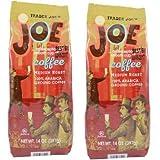 9. Trader Joe's Medium Roast Ground Coffee 100% Arabica Ground 13 oz (Pack of 6)