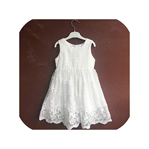 Rita Boyle Niños Verano Blanco Niña Boda Flor Niña Vestidos Fiesta Boda Vestidos Fiesta Boda Prom Vestidos Vestidos Bola