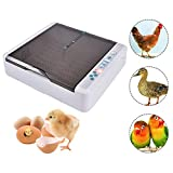 Runningfish Inkubator Brutmaschine Vollautomatisch Hühner Eier Brutgerät 12-120 Eier für