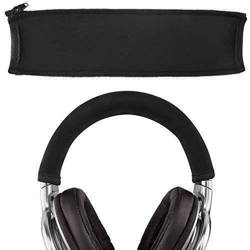 MMOBIEL Ersatz Bügelpolster Kopfbügel Cover Schutz kompatibel mit Sony MDR1A MDR-1ADAC/S/B MDR-1ABT MDR-1AM2/B/S MDR1RNC MDR1R MDR1RBT MDR-1R(N) MK2 Kopfhörer (Schwarz)