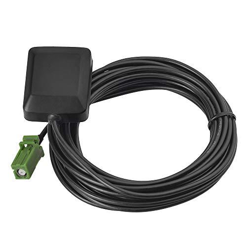 Eightwood Antena GPS Active con Conector AVIC Verde Cable de 3 m para Receptor de navegación Pioneer