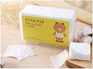 Cosmetic make up cotton pads 1000 pieces make-up and Nail Polish remover[zZ]