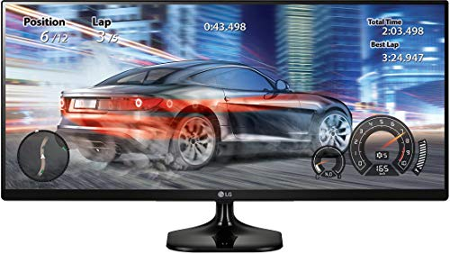 LG 25UM58-P 25-Inch 21:9 UltraWide IPS Monitor with Screen...