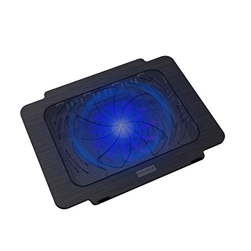 ZHBD Laptop Cooling Pad Cooler Chill Mat Portable K16 Notebook Radiator Base Computer Cooling Fan 14 Inch Bracket with 140mm Fan High Heat Dissipation Performance