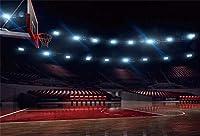 APAN5x3ftバスケットボール・コートインテリアの背景バスケットボールのテーマ誕生日パーティーの写真の背景の屋内バスケットボールスタジアムスポーツクラブ新生児人学生スポーツパーティー写真撮影の小道具