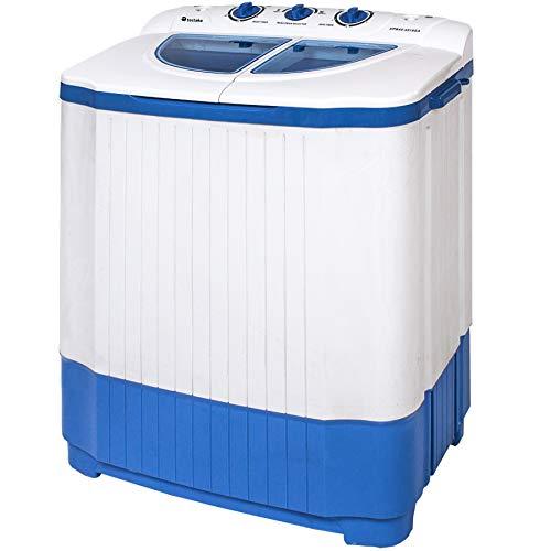 tectake Mini Machine à Laver et à Essorer Jusqu'à 4,5 kg