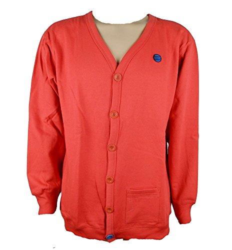 Adidas Neo heren blazer cardigan jas rood nieuw maat 2XL