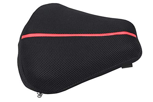 WEHOPE Seat Air Cushion Pad Compatible with Cruiser Sport Motorcycle Fits Most Seats of Sport...
