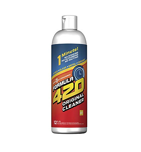 FORMULA 420 CLEANER - GLASS, METAL & CERAMIC CLEANSER [12 FL OZ]