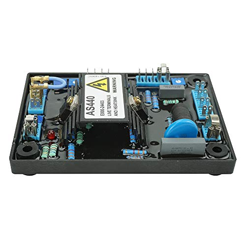 AVR AS440 Regulador Automático de Voltaje de Alto Rendimiento Reemplazo Estable para Estabilizadores de Generadores Componentes y Suministros Electrónicos AVR Universal para AS440