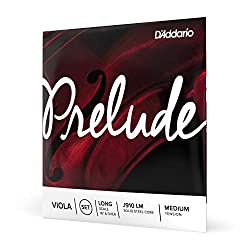 D'Addario Prelude Viola String Set  Long Scale