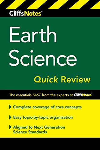 Compare Textbook Prices for CliffsNotes Earth Science Quick Review 2 Edition ISBN 9781328460783 by Ryan, Scott