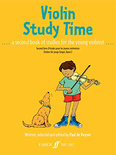 Violin Study Time: A Second Book of Studies for Young Violinists