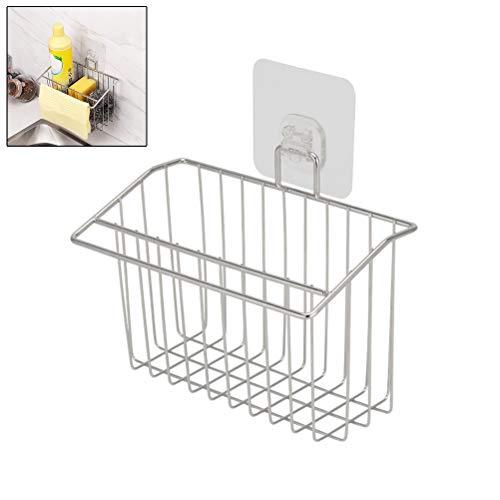 1 soporte esponja cesta cocina ventosa fuerte, estante