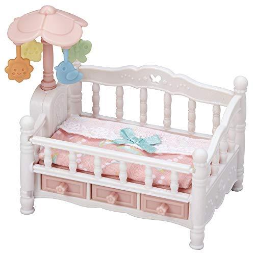 Sylvanian Families - Le lit de bébé et Mobile - 5534 - Meubles et Accessoires Poupée - Mini Poupées